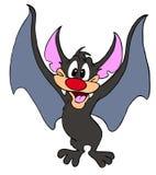 吸血蝙蝠万圣节生物 免版税库存图片