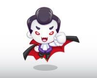 吸血鬼例证 库存图片