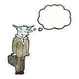 吸血鬼律师漫画人物 图库摄影