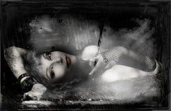 吸血鬼心脏 库存照片