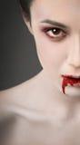 吸血鬼眼睛 库存照片