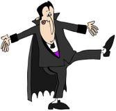 吸血鬼舞蹈 免版税库存照片