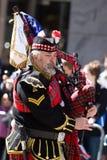吹笛者苏格兰人 免版税图库摄影
