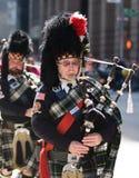 吹笛者苏格兰人 免版税库存图片