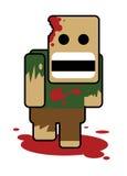 呆笨的人zombe 免版税库存照片