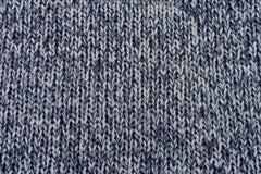 呈杂色的羊毛纹理 免版税库存照片