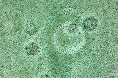 呈杂色的绿色陶瓷背景 图库摄影