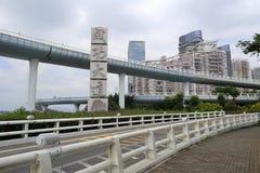 呈贡(成功)都市高速公路 免版税库存图片