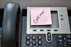 告诉我电话 免版税库存照片