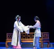 """告诫这紫色簪子--江西linchuan† opera""""four梦想  库存照片"""