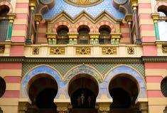 周年纪念犹太教堂,布拉格 免版税库存图片