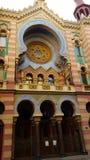 周年纪念犹太犹太教堂,布拉格 免版税库存图片