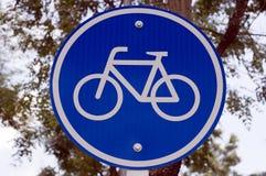 周期自行车商标 免版税库存图片