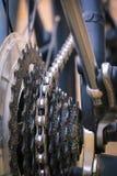 周期,链子,轮胎,轮幅,齿轮 免版税库存图片