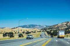 周末旅行在洛杉矶 旅行向拉斯维加斯 免版税图库摄影