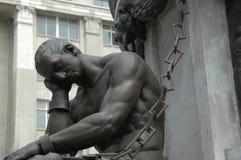 周道的雕象 免版税库存照片