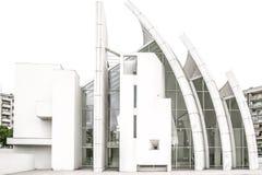 周年纪念教会侧视图  免版税图库摄影