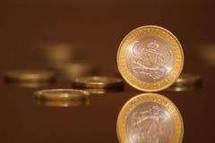 周年纪念现金货币俄语 库存图片