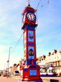 周年纪念钟楼,韦茅斯,多西特,英国 免版税库存照片