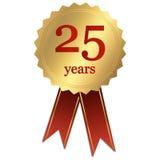 周年纪念- 25年 向量例证