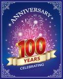 周年100年 免版税库存照片