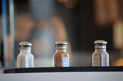 味道的选择从香草、桂香&巧克力的 库存照片