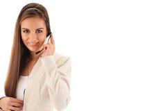 呼叫中心运算符 客户支持 帮助台 免版税图库摄影