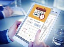 任命事件提示计划者概念 免版税库存照片