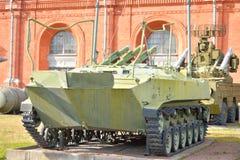 命令职员车BTR-50 PU 免版税图库摄影