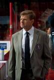 命令Slovan (布拉索夫) Rostislav Chada主教练  库存照片