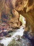 咆哮峡谷 库存图片