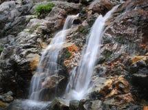 咆哮溪的秋天 免版税库存图片