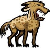 咆哮鬣狗 库存例证