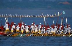 水和中秋节在金边柬埔寨 库存图片