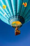 和在一个热空气气球 库存照片