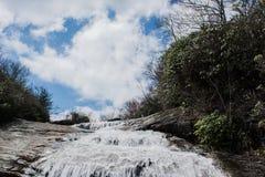 水和天空 免版税库存照片