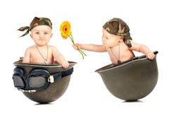 和平与爱情 免版税库存图片
