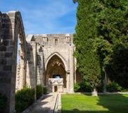 和平修道院  免版税库存照片