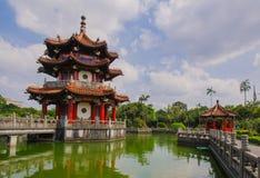 228和平公园在台北,台湾 库存照片