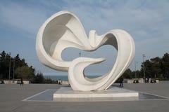 和平公园在Sumgayit,阿塞拜疆 免版税库存图片