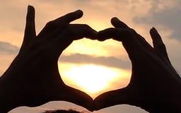 和平和爱 免版税库存图片