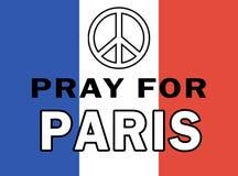 和平在巴黎 免版税库存图片