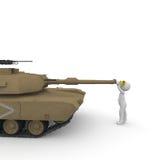 和平坦克1 免版税库存图片