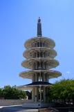和平塔, Japantown,旧金山 免版税库存图片