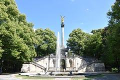 和平天使在慕尼黑Bogenhausen 免版税图库摄影