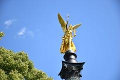 和平天使在慕尼黑Bogenhausen 免版税库存图片