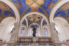 和平宫殿的天花板 库存照片