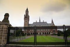和平宫殿-国际法院在海牙, 库存图片