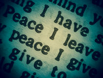 和平愿望  库存图片