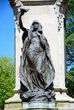 和平或胜利雕象,在特伦特的伯顿 库存照片